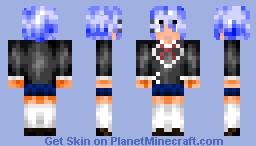 Date A Live - Origami Tobiichi Minecraft Skin