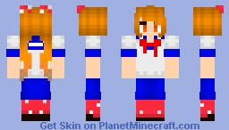 -=Osana Najimi (First Rival)=- Minecraft Skin