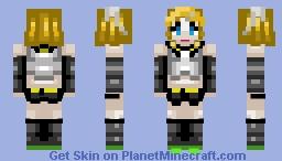 (♬ Vocaloid ♬) Rin_Kagamine {。^◕‿◕^。} Minecraft Skin