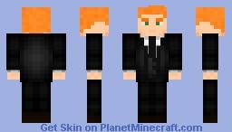 Roy Harper - Suit Minecraft Skin