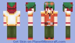 Sakaki Yuya Yugioh ArcV Minecraft Skin - Skins para minecraft pe yugioh