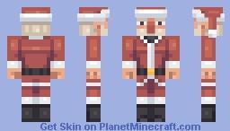 17365th Santa Claus skin Minecraft Skin