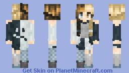 Twin Skeletons -- [ psychophobia ] Minecraft Skin