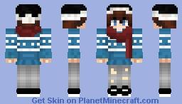 ~ All i want is an ugly sweater ~ Minecraft Skin