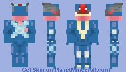 Greninja Minecraft Skin