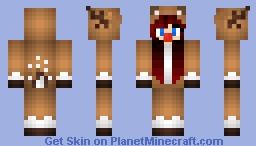 Reindeer Christmas Onesie Minecraft Skin