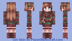 Holiday Cheer! // All I want for the Holidays // Minecraft Skin