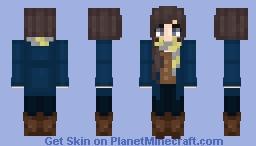 Newt Scamander Skin [Female] Minecraft Skin