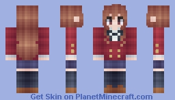*Яเภภเє~* Toradora- Taiga Aisaka! Minecraft Skin