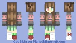 Noel | Christmas OC | HomeworldGeek Minecraft Skin