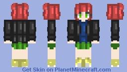Corinne | OC | HomeworldGeek Minecraft Skin