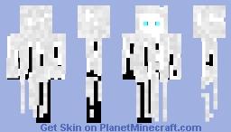 White gost Minecraft Skin
