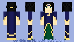 Queen Ophira Dacron - The Story OC ~Ὠκεαν~ Minecraft Skin