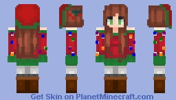Merry Christmas! ~ Mage~ 350 Subscribers! Minecraft Skin