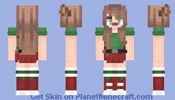 Merry Christmas! ~ Elf Minecraft Skin