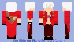 Devil May Cry 3 Dante Son of Sparda Minecraft Skin