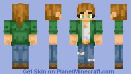 ♥~ Rere ~♥ Dean Winchester Genderbend Minecraft Skin