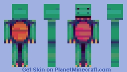 the dazzling dinosaur who couldn't dance Minecraft Skin