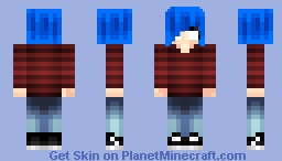 gorillas 2d girl (I'm back with fire!) Minecraft Skin