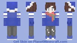 єм ~ вℓυєу ¢няιѕтмαѕ ♡ Minecraft Skin