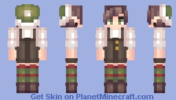 Christmas Elf Minecraft Skin