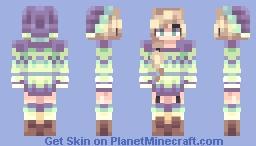 Jolly Holiday Minecraft Skin