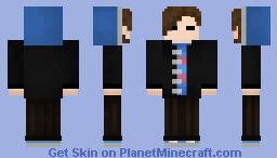 Male Frisk Minecraft Skin