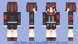 Persona 3 Portable -- Minako Arisato ***Looks Slighty Better in 3D*** Minecraft Skin