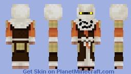Warrior Monk Minecraft Skin