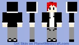 Red Haired Boy Minecraft Skin