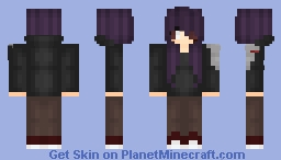Robot Girl Minecraft Skin