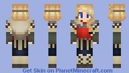 Httyd - Astrid hofferson movie 2 - contest entry Minecraft Skin