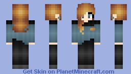 Beverly Crusher - Gift for a friend Minecraft Skin