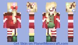 I want Christmas Day! //Yumiku Minecraft Skin