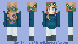 Almost a whole year!! Minecraft Skin