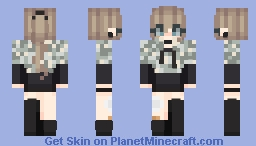 Camouflage and injuries~ Minecraft Skin