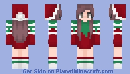 Christmas girl ♡ Minecraft