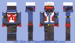 Overwatch - Soldier: 76 Minecraft