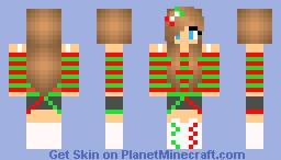 Christmas spirit Girl Minecraft