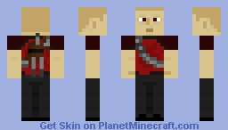 inFAMOUS: Evil Cole Minecraft Skin