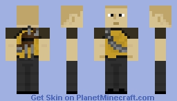 inFAMOUS: Good Cole Minecraft Skin