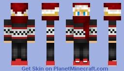 xmas sweater guy Minecraft Skin