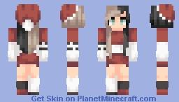🎅🏻~Christmas skinnn ;u; Minecraft Skin