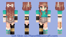 Fool's Gold Minecraft Skin