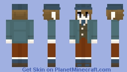 Clive Dove- Professor Layton and the Unwound Future/ Lost Future Minecraft Skin