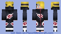 Deidara (デイダラ) Minecraft Skin