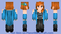 Beverly Crusher =^-^= Minecraft Skin