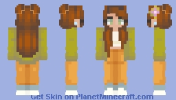 Earth Day (looks better in preview :/) Minecraft Skin