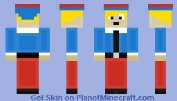 Hermey The Elf Minecraft Skin