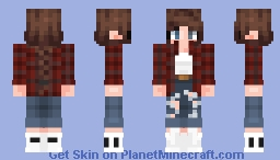 Beanie -- Flannel Minecraft Skin
